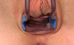 Enjoy this czech model dildoing vagina