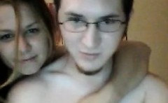 Horny Couple Fucking In Bed