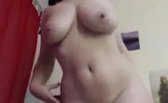 Busty European Slut Teasing