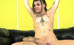 Horny Slut Amelia Dire Gets All Her Holes Ruined