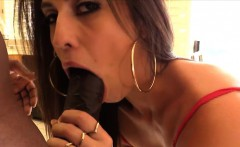 Gonzo and brunette Kelsie Monrie gets her pussy fucked