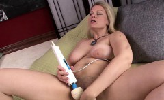 Blonde MILF Zoey Tyler Gets Her Hands on a Hitachi