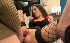 Slutty girl gets a good fucking in the ass