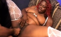 Chubby caramel nympho Jelly Pie has a white guy plowing her wet pussy
