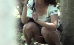 Asian wipes pee off legs