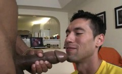Guy sucks own cock gay first time Big penis gay sex