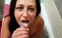 Cum in mouth photo
