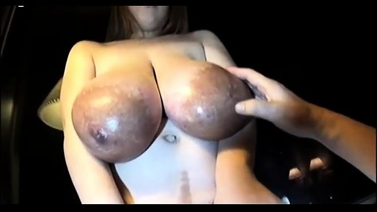 Unusual breasts black areolas
