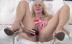 Erica Lauren Pink Panties and Toy