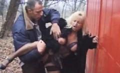 Outside Granny Sex