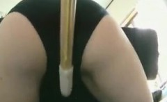 asian schoolgirl gets punished and is caned in the pussy an