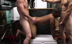 Straight big ass dude tries sucking cock