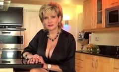 Unfaithful uk mature lady sonia showcases her oversized hoot