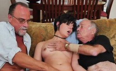 Teen Sydney Sky Gets Shared By Horny Old Men