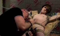 Gay male slave bondage and nude male bondage outdoor xxx Seb