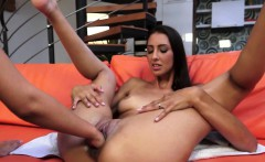 Young lesbo beauty passionately fisted