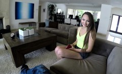 Escort newbie Sabrina Rey is paying me a visit to give my