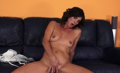 Euro mature fucked after masturbation