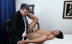 Pinoy twink doggystyled by office dilf
