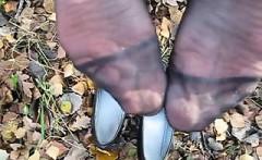Spunk on german mummy nylon soles