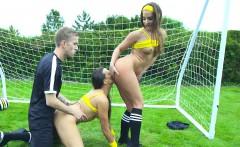 Soccer Sluts get Analized Outside