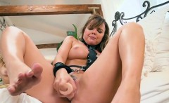 Sexy Dykes Use Dildo On Each Others Pussy
