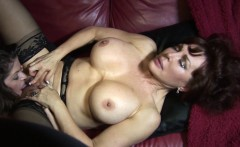 big tit milfs vanessa and june eat each other out