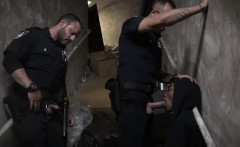 Police fuck boy movie and gay men Suspect on the Run, Gets D