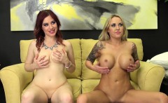 Jessica and Alexia Fucking Live Lesbian Action