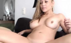 Slutty Blonde Model Fucked Herself With Her Sextoy