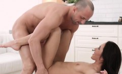 Teen Dork Kerry Cherry Gets Boned By Neighbor