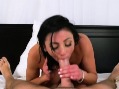 Audrey Bitoni gives amazing blowjob