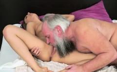 Grandpa Albert wants to taste hot Dominicas wet juicy cunt