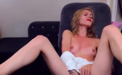 Hot Blonde Camgirl Masturbates For Your Enjoyment