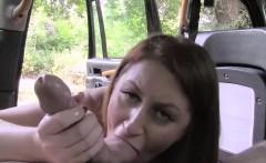 Sexy slutty babe Paris hammered hard by fake cab driver
