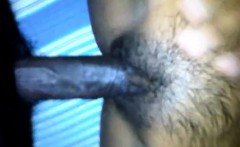 Hairy Ebony Teen make to cocks very happy