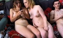 Naked Women kissing on webcam