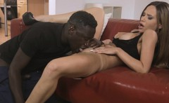 Busty babe fucked by bbc