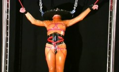 Sexy female nasty bdsm scenes with castigation and sex