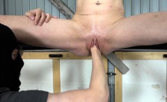 Girl with a hungry hole gets Fisted hard