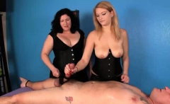 Blonde Masseuse Touches Clients Cock Accidentally