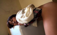 Super cutie plays with a sextoy gets a lot of pleasure