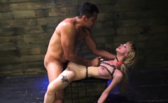 Milf darling bondage and table machine She runs over and ask
