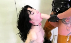 Teen tries huge cock and one shot cum This is our most extra