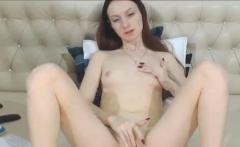 Ginger Teenager Has Huge G Spot Vibrator