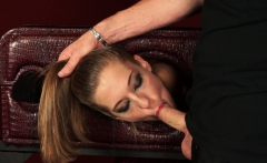 Rough Drilling For Sultry Cutie Molly Manson