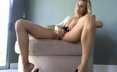 Hot blonde milf masturbation