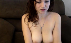 PublicAgent Brunette Teen with big boobs fucked in car