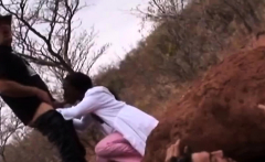 Weird fucking Africans with sex slave