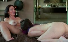 Horny Serena Blair seduces hot milf Mindi Mink for fuck